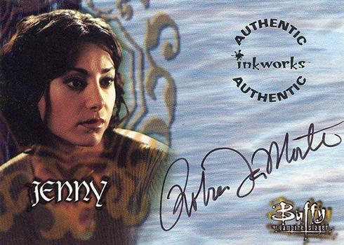 1999 Inkworks Buffy the Vampire Slayer Season 2 Robia Lamorte Autograph