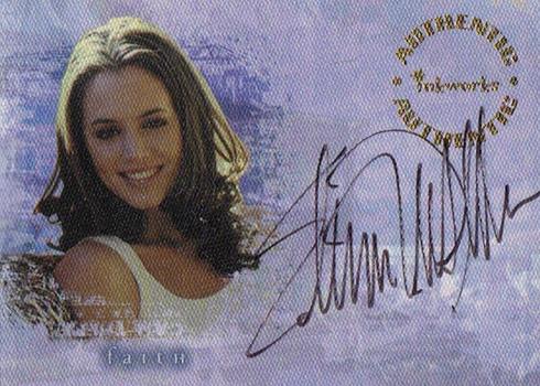 2000 Buffy Reflections Autographs Eliza Dushku