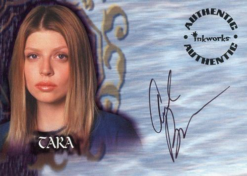 2001 Buffy Season 5 Autographs Amber Benson