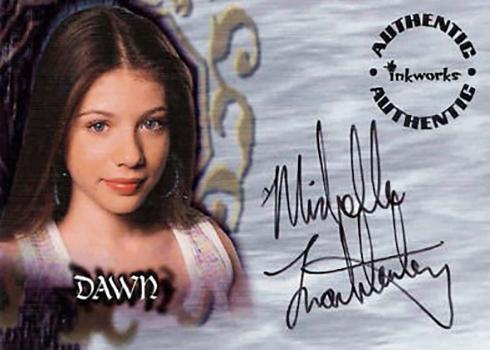 2001 Buffy Season 5 Autographs Michelle Trachtenberg