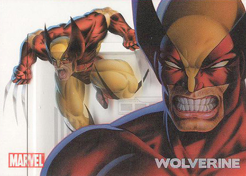 2010 Rittenhouse 70th Clearly Heroic Wolverine PC6