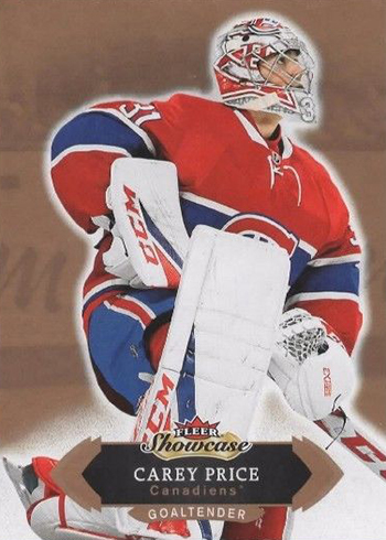 2016-17 Fleer Showcase Hockey Base Carey Price
