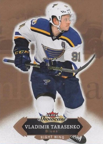 2016-17 Fleer Showcase Hockey Base Vladimir Tarasenko