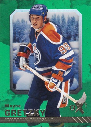 2016-17 Fleer Showcase Hockey EX 2017 Wayne Gretzky