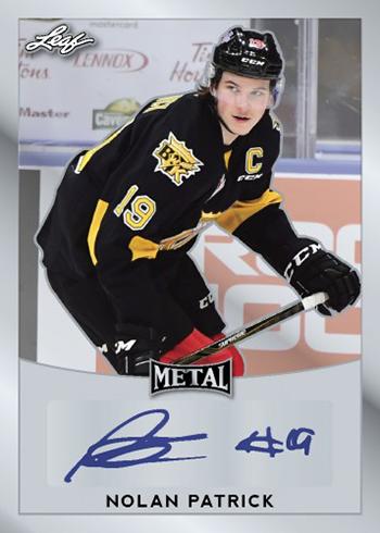 2016-17 Leaf Metal Hockey Autograph