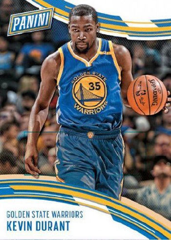 2016-17 Panini Day Basketball Kevin Durant