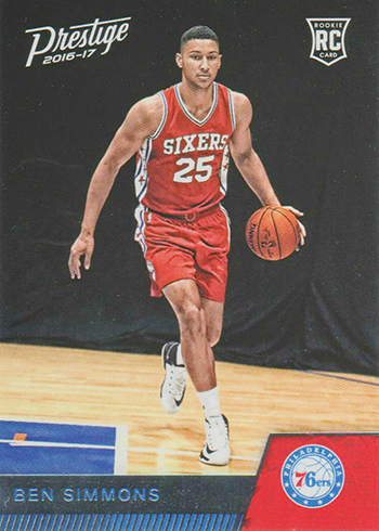2016-17 Panini Prestige Basketball Base Ben Simmons RC