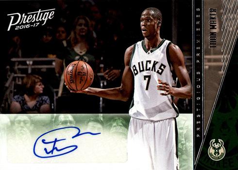 2016-17 Panini Prestige Basketball Prestigious Premieres Autographs Thon Maker