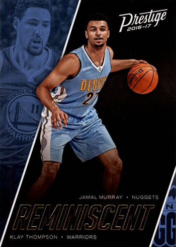 2016-17 Panini Prestige Basketball Reminiscent Jamal Murray Klay Thompson