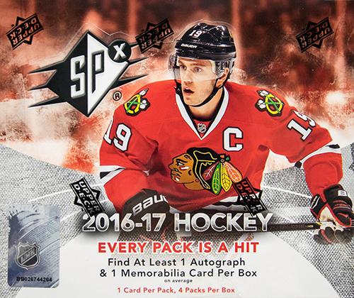 2016-17 SPx Hockey Hobby Box