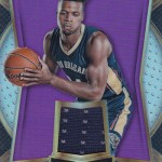 2016-17 Select Basketball Rookie Swatches Purple Buddy Hield