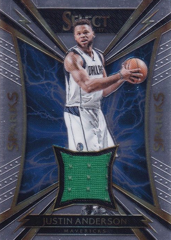 2016-17 Select Basketball Sparks Memorabilia