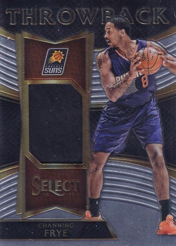 2016-17 Select Basketball Throwback Memorabilia