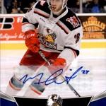 2016-17 UD AHL Autograph Matt Lorito