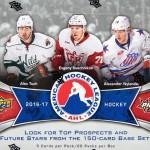 2016-17 UD AHL Hobby Box