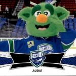 2016-17 UD AHL Mascots Audie