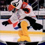 2016-17 UD AHL Mascots Buddy the Puffin