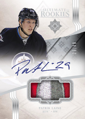2016-17 Upper Deck Ultimate Collection Hockey RPA