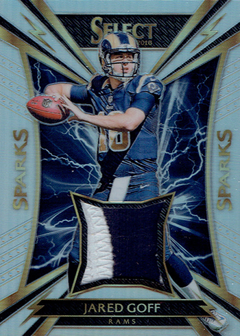 2016 Panini Select Football Sparks Jared Goff 99