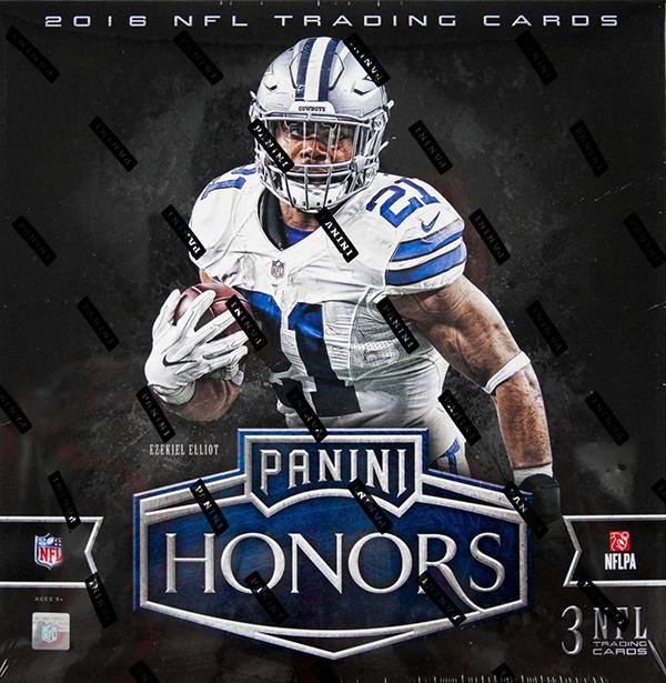 2016 Panni Honors Football Hobby Box