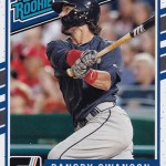 2017 Donruss Baseball Base Rated Rookie Dansby Swanson