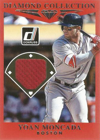 2017 Donruss Baseball Diamond Collection Yoan Moncada