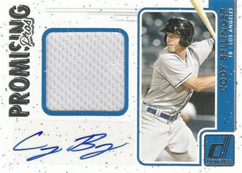 2017 Donruss Baseball Promising Pros Cody Bellinger