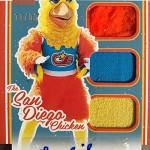 2017 Donruss Baseball San Diego Chicken Autograph