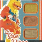 2017 Donruss Baseball San Diego Chicken Triple Materials