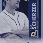 2017 Donruss Baseball Studio Signatures Max Scherzer