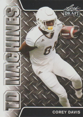 2017 Leaf Draft Football TD Machines Corey Davis
