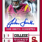 2017 Panini Contenders Draft Picks Football College Ticket Autograph