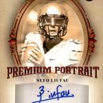 2017 SAGE Hit Premier Draft Premium Portrait Autograph Liufau