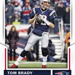 2017 Score Football Base Tom Brady