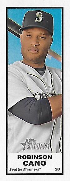 2017 TH Baseball Bazooka Robinson Cano