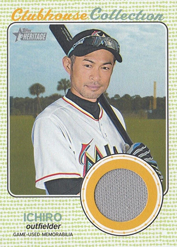 2017 TH Baseball Clubhouse Collection Ichiro