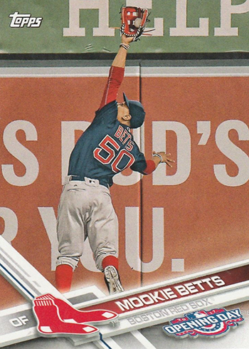 2017 TOD 113 Mookie Betts