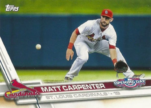 2017 TOD 156 Matt Carpenter