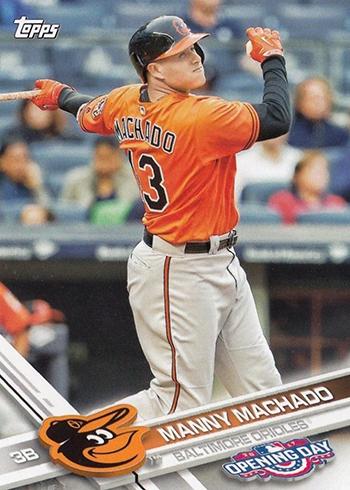 2017 TOD 80 Manny Machado