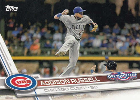 2017 TOD 86 Addison Russell