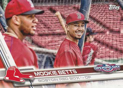 2017 TOD Var 113 Mookie Betts