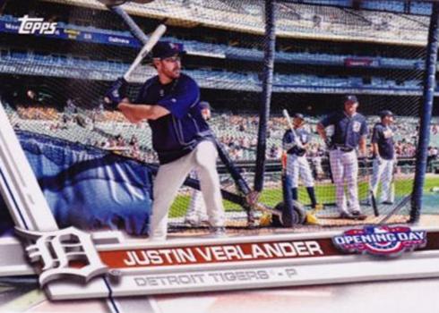 2017 TOD Var 151 Justin Verlander