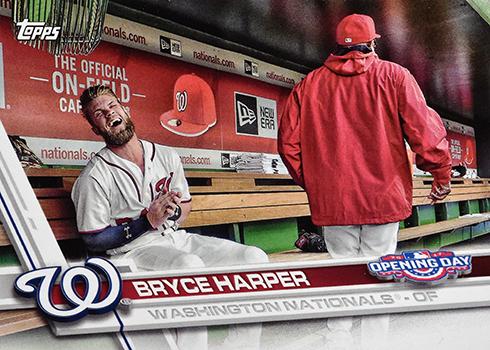2017 TOD Var 20 Bryce Harper Laughing
