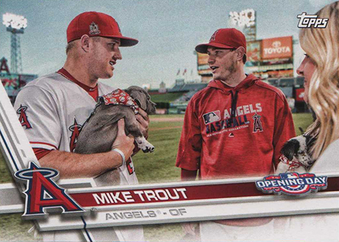 2017 TOD Var 75 Mike Trout