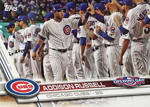 2017 TOD Var 86 Addison Russell
