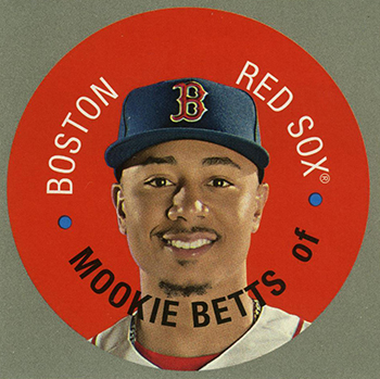 2017 Topps Heritage Disc Card