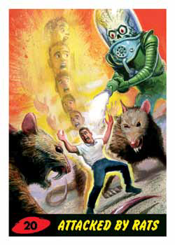 2017 Topps Mars Attacks The Revenge Base Rats