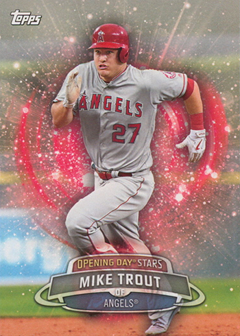 2017 Topps Opening Day Baseball Opening Day Stars