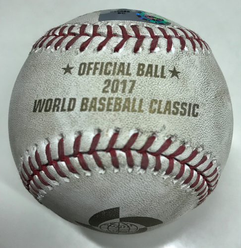 2017 World Baseball Classic GU Ball A