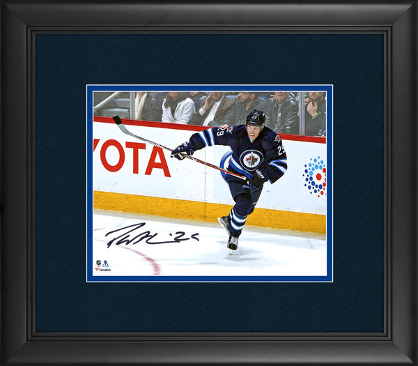 Patrik Laine Signed Photo Framed